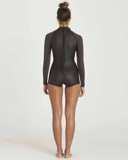 2 Surf Capsule Spring Fever Long Sleeve Springsuit Black JWSPGSPF Billabong
