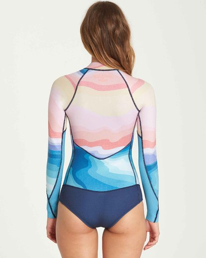 2 2mm Salty Dayz Long Sleeve Springsuit  JWSPQBSA Billabong