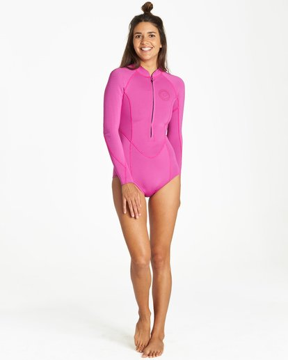 1 Salty Dayz Long Sleeve Springsuit Purple JWSPVBSA Billabong