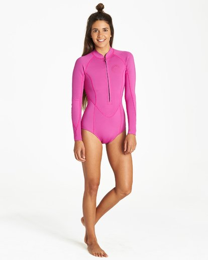 2 Salty Dayz Long Sleeve Springsuit Purple JWSPVBSA Billabong