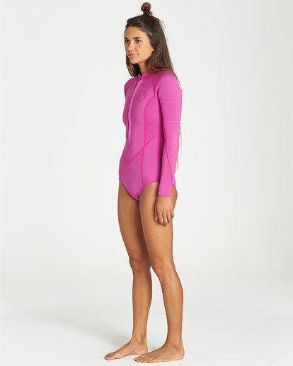 3 Salty Dayz Long Sleeve Springsuit Purple JWSPVBSA Billabong