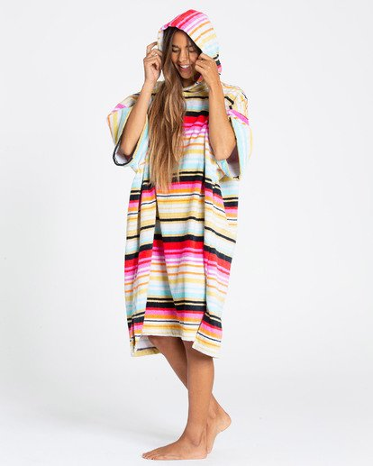 1 Hooded Towel Changing Poncho  JWTWTBHT Billabong