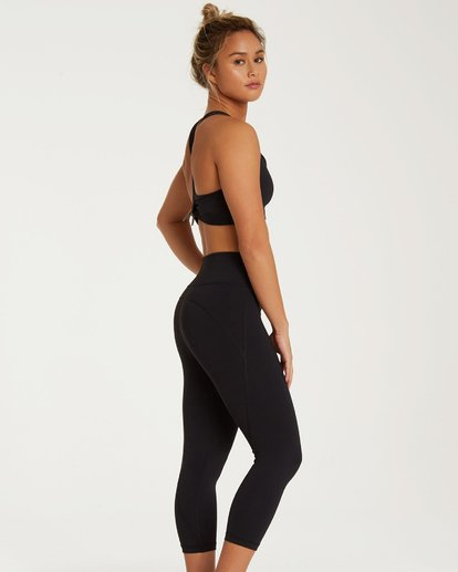 3 Capri Pant Black JY44TBCA Billabong