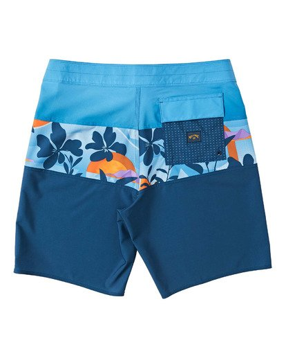 1 Boys' (2-7) Tribong Pro Boardshorts Yellow K1201BTB Billabong