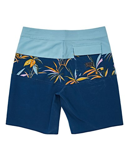 1 Boys' (2-7) Tribong Pro Boardshorts Blue K120VBTB Billabong