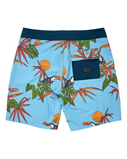 1 Boys' (2-7) Sundays Pro Boardshorts Blue K123TBSU Billabong