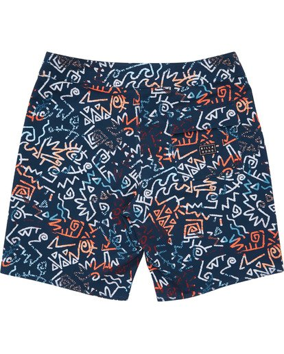 1 Boys' (2-7) Sundays Pro Boardshorts  K123TBSU Billabong