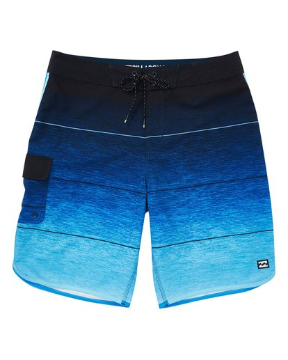 0 Boys' (2-7) 73 Stripe Pro Boardshorts Blue K127TBST Billabong