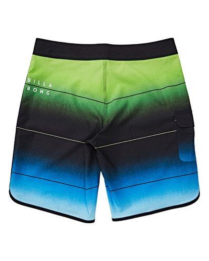 1 Boys' (2-7) 73 Stripe Pro Boardshorts Green K127VBST Billabong