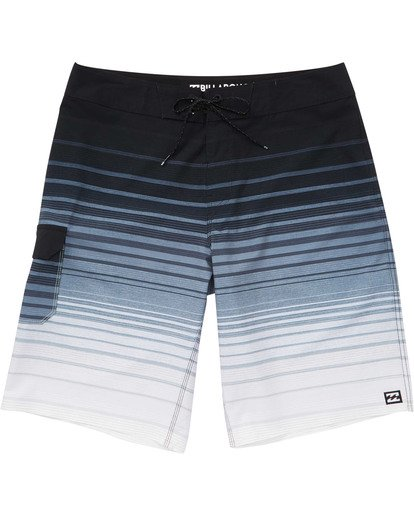 0 Boys' (2-7) All Day Stripe Pro Boardshorts Black K133TBAS Billabong