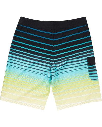 1 Boys' (2-7) All Day Stripe Pro Boardshorts Black K133TBAS Billabong