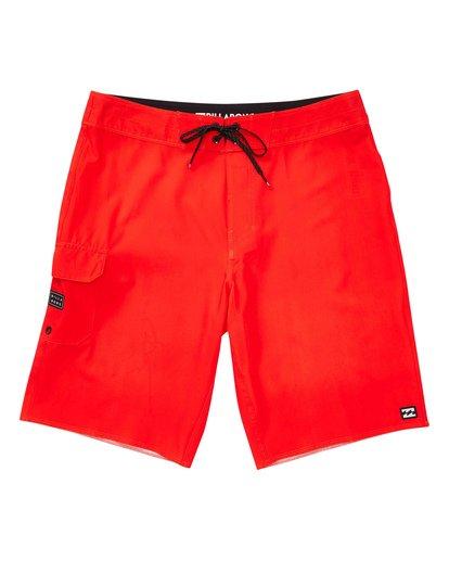 0 Boys' (2-7) All Day Pro Boardshorts Red K135TBAD Billabong