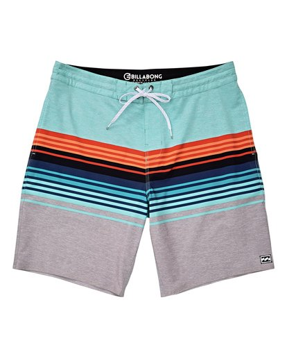 0 Boys' (2-7) Spinner LT Boardshorts Grey K144TBSP Billabong