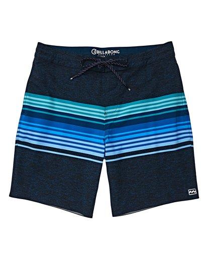 0 Boys' (2-7) Spinner LT Boardshorts Blue K144VBSP Billabong
