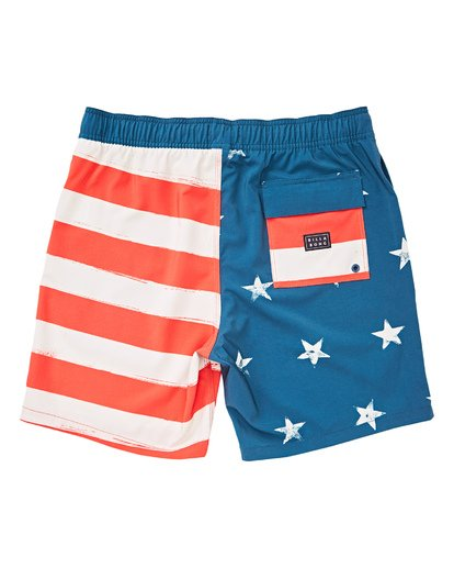 1 Boys' (2-7) Sundays Layback Boardshorts  K180TBSU Billabong