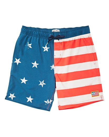 0 Boys' (2-7) Sundays Layback Boardshorts  K180TBSU Billabong