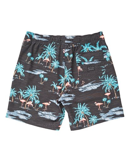 1 Boys' (2-7) Sundays Layback Boardshorts Grey K180TBSU Billabong