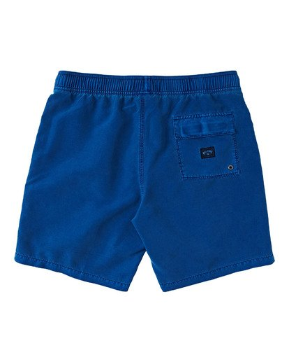 1 Boys' (2-7) All Day Overdye Layback Boardshorts Blue K1821BAB Billabong