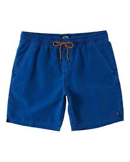 0 Boys' (2-7) All Day Overdye Layback Boardshorts Blue K1821BAB Billabong