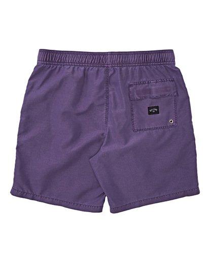 1 Boys' (2-7) All Day Overdye Layback Boardshorts Purple K1821BAB Billabong