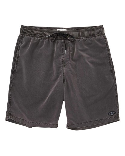 0 Boys' (2-7) All Day Layback Boardshorts Black K182TBAD Billabong