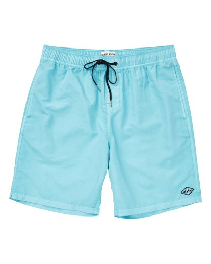 0 Boys' (2-7) All Day Layback Boardshorts White K182TBAD Billabong