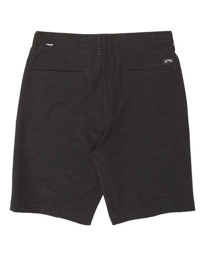 1 Boys' (2-7) Crossfire Slub Submersible Walkshort Black K2031BCS Billabong