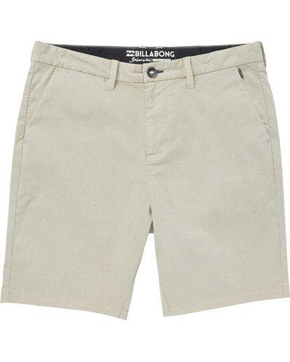 0 Boys' (2-7) New Order X Overdye Walkshort Beige K207TBNO Billabong