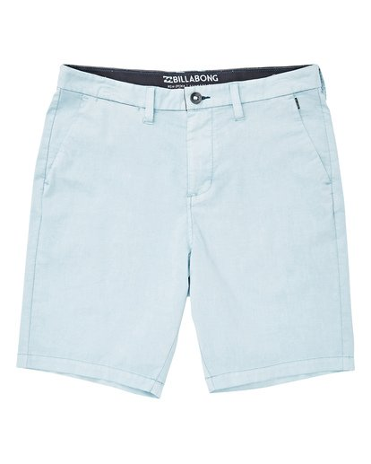 0 Boys' (2-7) New Order X Overdye Walkshort Blue K207TBNO Billabong