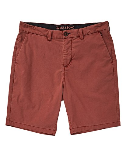 0 Boys' (2-7) New Order X Overdye Shorts Red K207VBNO Billabong