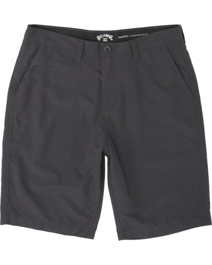 0 Boys' (2-7) Sandpiper Submersible Walkshort Black K2091BSP Billabong