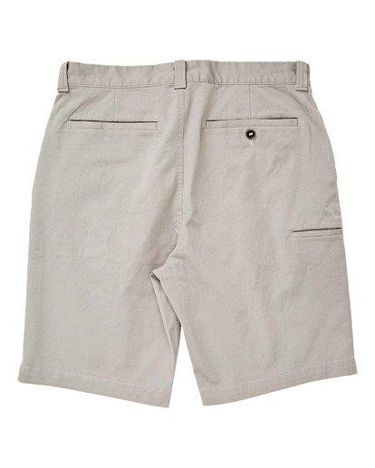 "1 Boys' (2-7) Carter Stretch Walkshort 14"" Grey K2361BCS Billabong"