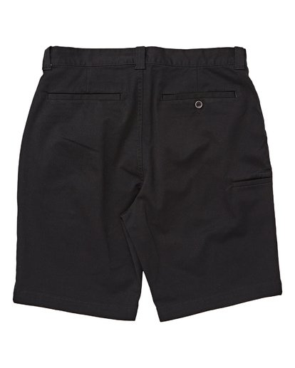 1 Boys' (2-7) Carter Stretch Shorts Black K236TBCS Billabong