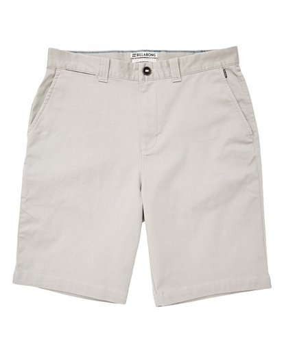 0 Boys' (2-7) Carter Stretch Shorts Grey K236TBCS Billabong