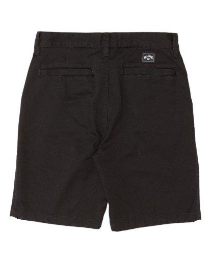 1 Boys' (2-7) Sandpiper Twill Walkshort Black K2371BST Billabong