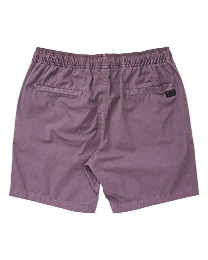 1 Boys' (2-7) Larry Layback Boardshorts Purple K239TBLL Billabong