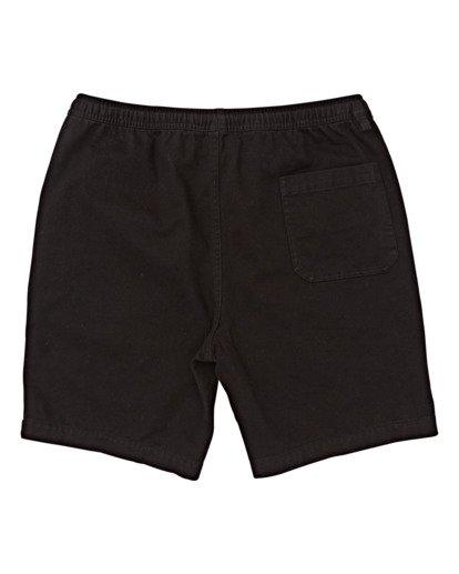 1 Boys' (2-7) Larry Layback Twill Shorts Black K2431BLT Billabong
