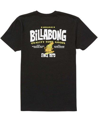 1 Boys (2-7) Grommit Tee  K401QBGR Billabong