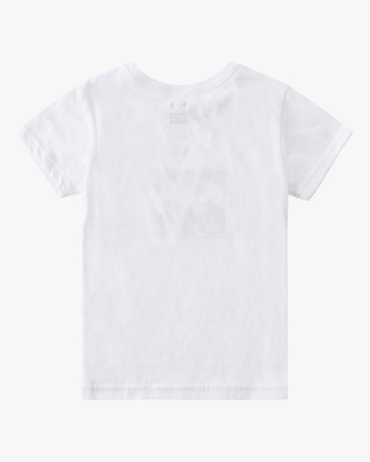 1 Boys' (2-7) Stacked Short Sleeve T-Shirt White K401QSTM Billabong