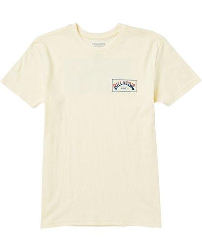 0 Kids' Arch Box Tee Shirt  K401SBAB Billabong