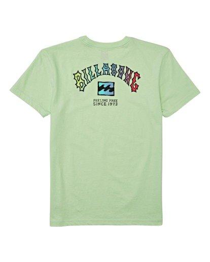 1 Boys' (2-7) Arch Short Sleeve T-Shirt Brown K4042BAR Billabong