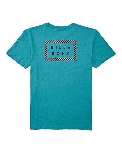 1 Boys' (2-7) Die Cut Short Sleeve T-Shirt Green K4042BDC Billabong