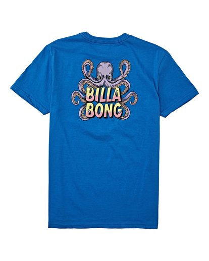 1 Boys' (2-7) Love Craft Short Sleeve T-Shirt Blue K4042BLC Billabong