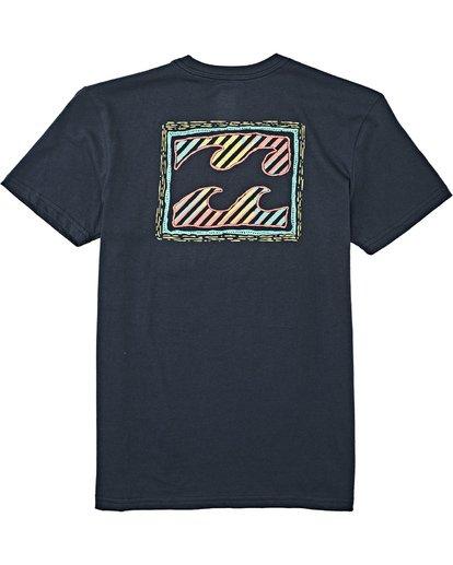 1 Boys' (2-7) Nosara Short Sleeve T-Shirt Blue K4042BNO Billabong