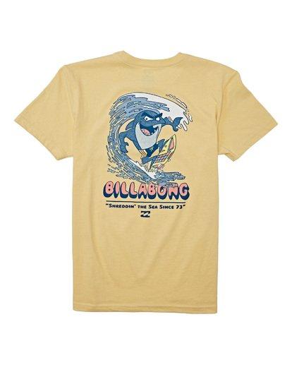 1 Boys' (2-7) Shreddin Short Sleeve T-Shirt Yellow K4042BSH Billabong