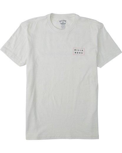 0 Boys' (2-7) Diecut T-Shirt White K4043BDI Billabong