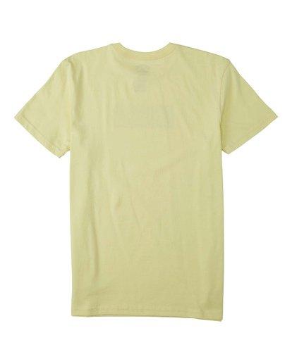 1 Boys' (2-7) Doodle T-Shirt Yellow K4043BDO Billabong