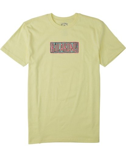 0 Boys' (2-7) Doodle T-Shirt Yellow K4043BDO Billabong