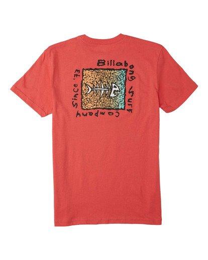 1 Boys' (2-7) Mondo T-Shirt Orange K4043BMO Billabong
