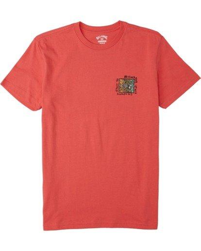 0 Boys' (2-7) Mondo T-Shirt Orange K4043BMO Billabong
